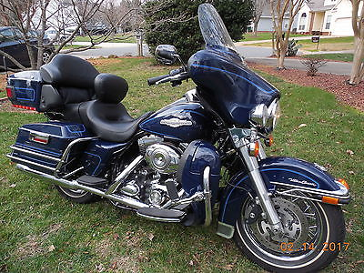 2008 Harley-Davidson Touring  ultra classic peace officer special edition blue 11504 miles model FLTSHR