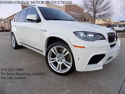2012 BMW X5 **0-Accidents**GORGEOUS** 2012 BMW X5 M **0-Accidents**GORGEOUS** SUV Alpine White 4.4L 32-Valve 555hp Twi