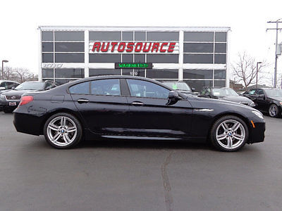 2015 BMW 6-Series 650i xDRIVE M-SPORT GRAN SPORT 2015 BMW 650 XI M SPORT DRIVERS ASSISTANCE COLD WEATHER $103K MSRP WARRANTY!!!!!