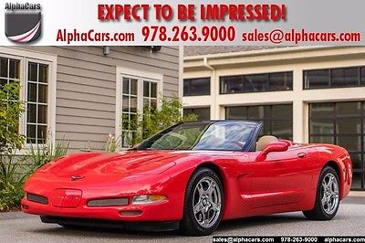 1998 Chevrolet Corvette C5 Convertible 6spd Pristine Condition Low Mileage Rare Color Loaded Financing & Trades