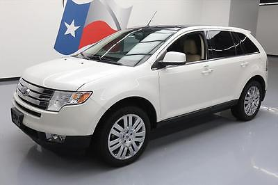 2010 Ford Edge Limited Sport Utility 4-Door 2010 FORD EDGE LIMITED PANO ROOF NAV HTD LEATHER 20'S!! #B32125 Texas Direct