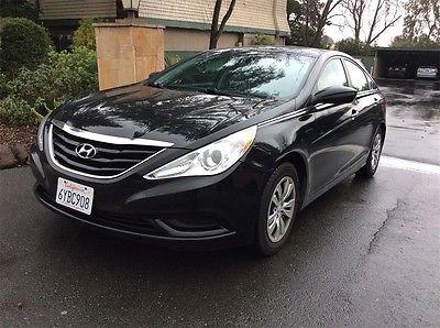 2013 Hyundai Sonata GLS 2013 Hyundai Sonata GLS 45751 Miles Black 4D Sedan 2.4L 4-Cylinder DGI DOHC 6-Sp