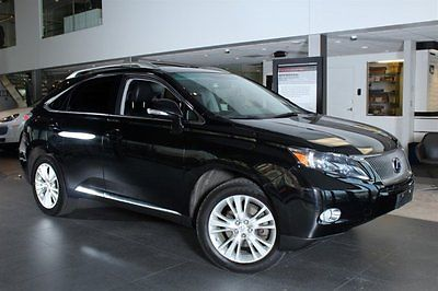 2010 Lexus RX Base Sport Utility 4-Door 2010 SUV Used Gas/Electric V6 3.5L/214 1-Speed ECVT Hybrid AWD Leather Black