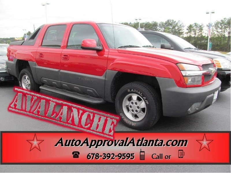 2002 Chevrolet Avalanche CrewCab,Running Boards,Tonneau,Tow-GET FINANCED NOW!