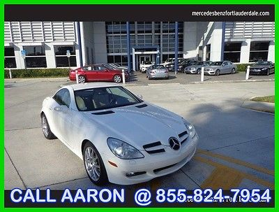 2006 Mercedes-Benz SLK-Class 3.5L 2006 3.5L Used 3.5L V6 24V Automatic Rear Wheel Drive Convertible Premium