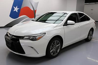 2016 Toyota Camry  2016 TOYOTA CAMRY SE AUTO BLUETOOTH REAR CAM ALLOYS 6K #158236 Texas Direct Auto