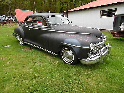 1948 Dodge COUPE CHROME 1948 DODGE COUPE~RUNS~DRIVES~CRUISER, PARADE CAR, HOT ROD, PROJECT WAS BARN FIND