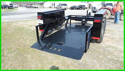 Anderson Trailer HGL612 6x12 knife edge eguipment utility drop deck trailer New