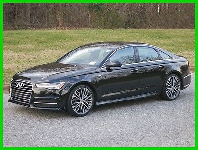 2016 Audi A6 2.0T QUATTRO/AWD PREM PLUS w/S-LINE SPORT PACKAGE 2016 2.0T QUATTRO/AWD PREM PLUS w/S-LINE SPORT PACKAGE Used Turbo 2L I4 16V AWD