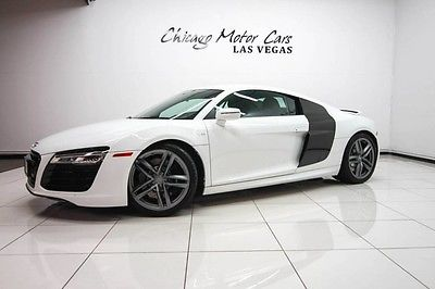 2014 Audi R8 2014 Audi R8 V10 Quattro Coupe MSRP $173k+ Diamond Stitch Leather PKG LOADED WOW
