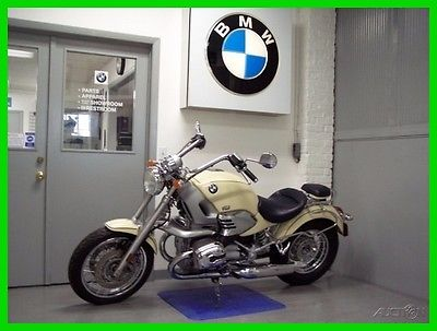 BMW R 1200 C Classic 1998 BMW R 1200 C Classic Saddle Bags Low Miles ABS Ivory Blue BMW R1200C