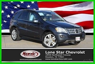 2011 Mercedes-Benz M-Class ML350 4matic 4dr 2011 ML350 4matic 4dr Used 3.5L V6 24V Automatic 4x4 SUV Premium