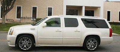 2009 Cadillac Escalade LUXURY ESV  2009 ESCALADE ESV PREMIUM LUXURY