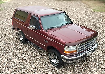 1996 Ford Bronco XLT 1996 Ford Bronco XLT, Rust free , original paint