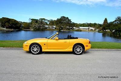 2002 Mazda MX-5 Miata 2dr Roadster 2002 Mazda MX-5 Miata 2dr Roadster 86,445 Miles YELLOW Convertible 1.8L I4 Manua