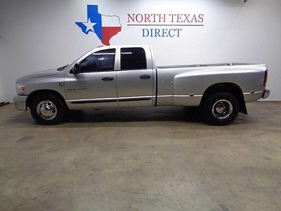 2006 Dodge Ram 3500  06 Ram 3500 Dually 2WD 6 Speed Leather Crew 5.9 Cummins Diesel We Finance Texas
