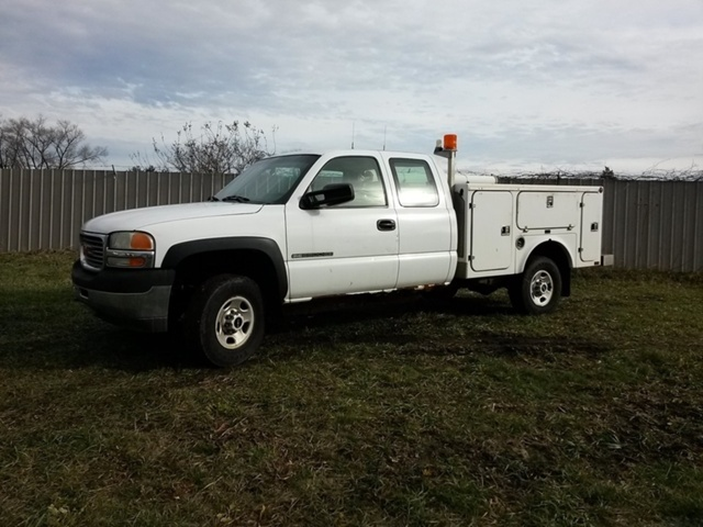 2002 Gmc 2500 Hd Utility Truck - Service Truck