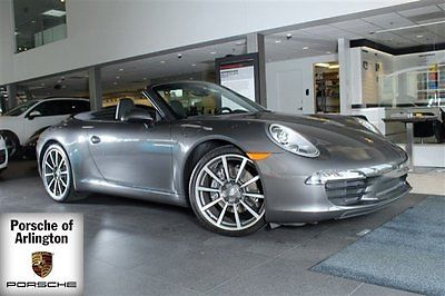 2013 Porsche 911 2013 Convertible Used Gas Flat 6 3.4L/210 7-Speed Automatic w/Manual Shift RWD