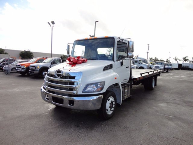 2017 Hino 258lp  Car Carrier