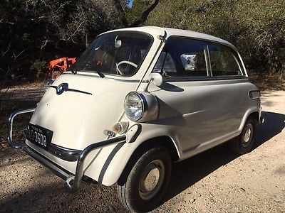 1958 BMW Other deluxe 1958 BMW Isetta 600 Limousine