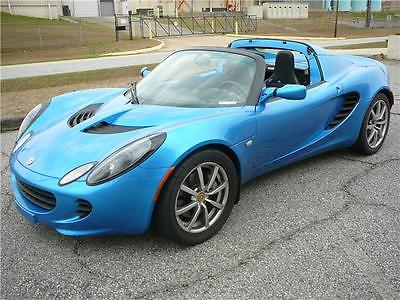 2005 Lotus Elise -- 2005 Lotus Elise  30,244 Miles Magnetic Blue Convertible 4 Cylinder Engine 1.8L/