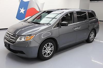 2012 Honda Odyssey EX-L Mini Passenger Van 4-Door 2012 HONDA ODYSSEY EX-L 8-PASS SUNROOF HTD LEATHER 73K #027352 Texas Direct Auto