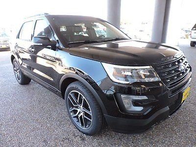 2016 Ford Explorer Sport 2016 Ford Explorer Sport SUV Turbocharged Gasoline Fuel V6 3.5L Automatic