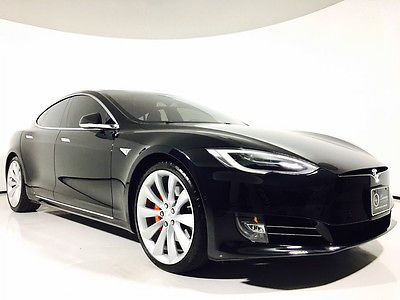 2016 Tesla Model S  AutoPilot Premium Upgrades All Glass Sunroof MSRP $133,000