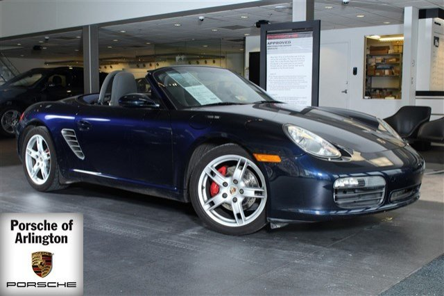 2005 Porsche Boxster 2005 Convertible Used Gas Flat 6-cyl 3.2L/194 5-Speed Auto RWD Leather Blue