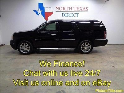 2007 GMC Yukon Denali Sport Utility 4-Door 07 Yukon XL Denali AWD GPS Navi Tv Dvd Heated Leather Bose WE FINANCE Texas