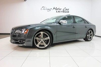 2014 Audi S8 2014 Audi S8 Quattro Sedan MSRP $116k+ Driver Assistance PKG Media Cable PKG WOW