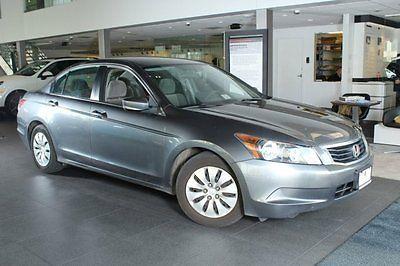 2010 Honda Accord 2010 Sedan Used Gas I4 2.4L/144 5-Speed Automatic FWD Gray