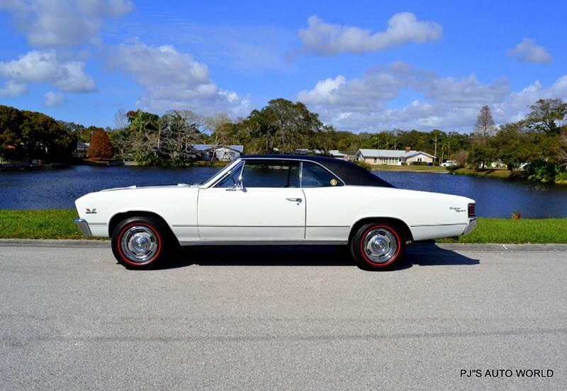 1967 Chevrolet Chevelle SUPER SPORT 1967 Chevrolet Chevelle SUPER SPORT 77,329 Miles White Coupe 396 Automatic 3-Spe
