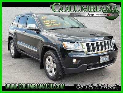 2013 Jeep Grand Cherokee 4WD 4dr Overland 2013 4WD 4dr Overland Used 5.7L V8 16V Automatic 4WD SUV Premium
