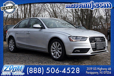 2013 Audi A4 4dr Sedan Automatic quattro 2.0T Premium 4dr Sedan Automatic quattro 2.0T Premium In Stock Automatic Gasoline 2.0L 4 Cyl