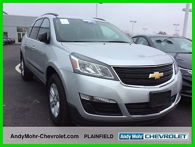 2015 Chevrolet Traverse LS 2015 LS Used 3.6L V6 24V Automatic FWD SUV Premium OnStar