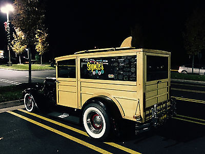 1929 Ford Model A Hot Rod Woodie Wagon 1929 Ford Model A  Woodie Wagon/ Delivery Truck  Unique Hot Rod drives like new!