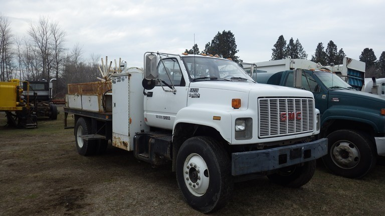 1992 Gmc C6500  Flatbed Truck