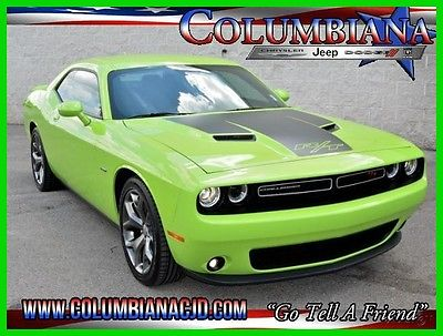 2015 Dodge Challenger 2dr Cpe R/T 2015 2dr Cpe R/T Used 5.7L V8 16V Manual RWD Coupe Premium