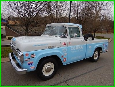 1959 Ford F-100 F-100 PICK UP 1959 Ford F-100 XL Shelby Pick Up Truck VERY CLEAN