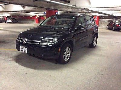 2014 Volkswagen Tiguan S 2014 Volkswagen Tiguan S 17487 Miles Black 4D Sport Utility 2.0L TSI 6-Speed Aut
