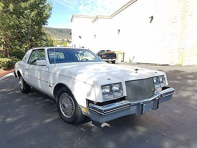 1985 Buick Riviera Coupe 1985 Buick Riviera Coupe Classic