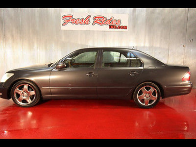 2004 Lexus LS Base Sedan 4-Door 2004 Lexus LS 430 Leather Seats