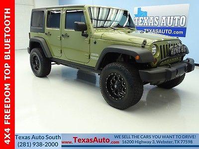 2013 Jeep Wrangler Unlimited Sport 2013 Jeep Wrangler Unlimited Sport 50554 Miles Commando Green 4D Sport Utility 3