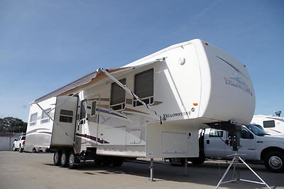 2003 Gulf-Stream Yellowstone XL 36FMS 37' Fifth Wheel, Generator, 3-Slides, More