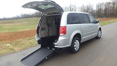 2011 Dodge Grand Caravan SE 2011  DODGE GRAND CARAVAN   SE HANDICAP WHEELCHAIR VAN REAR ENTRY