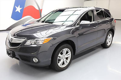 2015 Acura RDX Base Sport Utility 4-Door 2015 ACURA RDX TECH SUNROOF HTD SEATS NAV REAR CAM 33K #016130 Texas Direct Auto