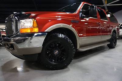 2001 Ford Excursion Limited 2WD 7.3L Powerstroke Entertainment 2owners 2001 Ford Excursion Limited 2WD 7.3L Powerstroke Diesel TV DVD BFGs 212k Carfax