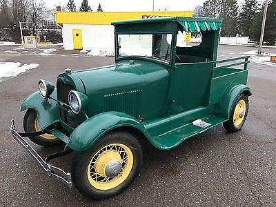 1929 Ford Model A pickup 1929 Ford Model A Pickup Huckster Jalopy Daily Driver Hack Parade Truck VIDEO