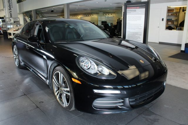 2014 Porsche Panamera 2014 Hatchback Used Premium Unleaded V-6 3.6 L/220 Automatic AWD Leather Black